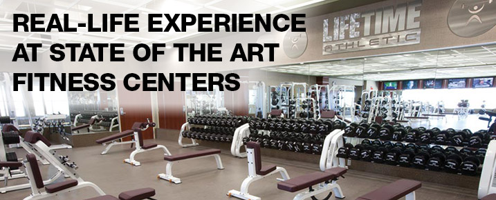 Real-life Experience at State of the Art Fitness Centers